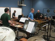 Rehearsal with Anders Astrand