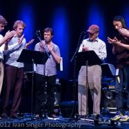 """Clapping Music"" with Steve Reich, David Cossin, and friends at the 2012 Bang on a Can Summer Festival"